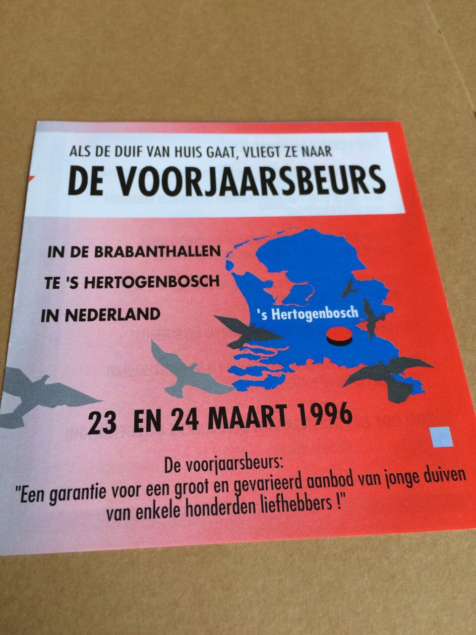 Oude poster